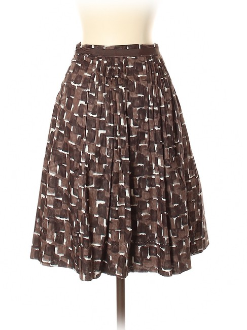 Elie Tahari Skirt Brown Image 1