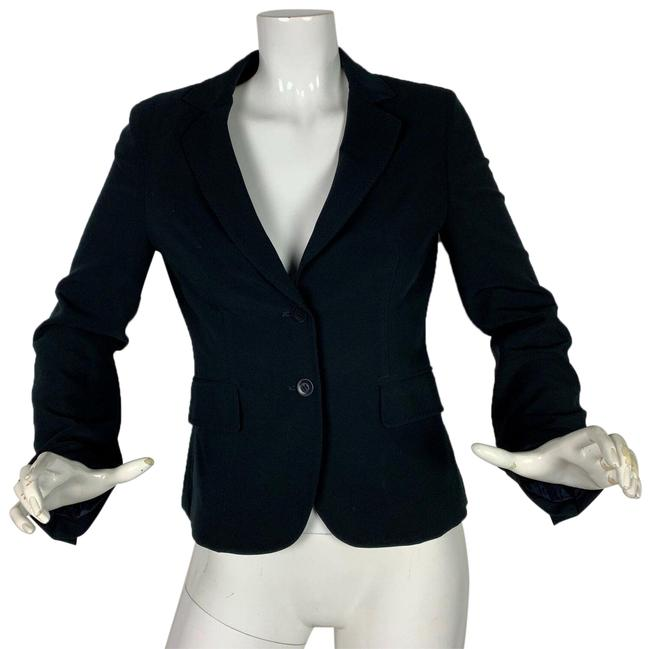 Preload https://img-static.tradesy.com/item/24894859/gerard-darel-black-career-women-36-italy-blazer-size-6-s-0-1-650-650.jpg