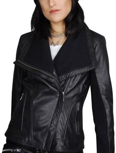 Michael Kors black Leather Jacket