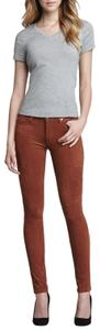7 For All Mankind Chic Classic Stretchy Comfortable Skinny Jeans-Medium Wash
