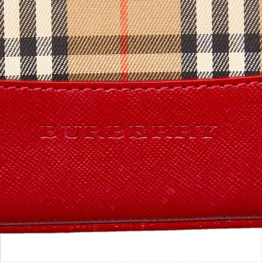 Burberry Burberry Brown Jacquard Shoulder Bag United Kingdom Medium Image 5