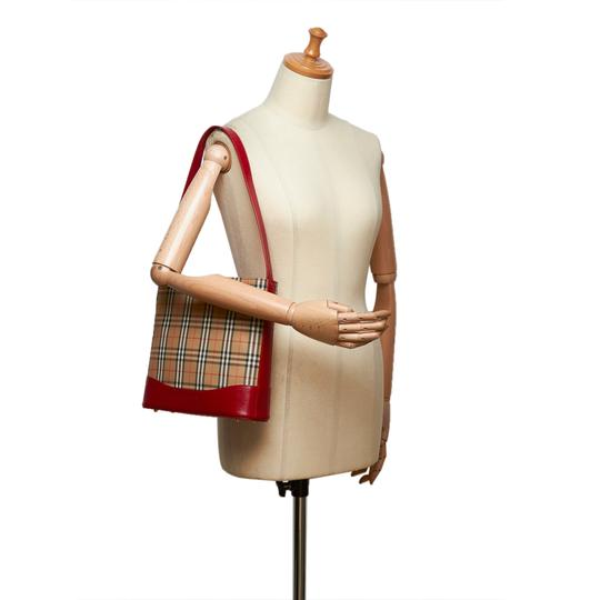 Burberry Burberry Brown Jacquard Shoulder Bag United Kingdom Medium Image 8