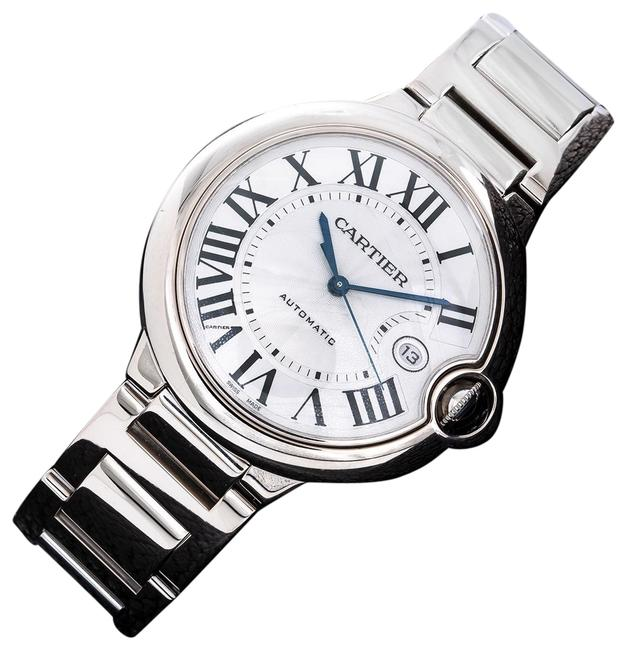 Item - Stainless Steel with White Dial Roman Ballon Bleu W69013z2 42mm Numerals Watch