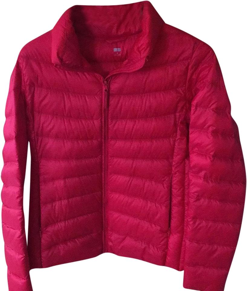 1abc5b640a494c Uniqlo Red Red Not Pinky Down Jacket Coat Size 8 (M) - Tradesy
