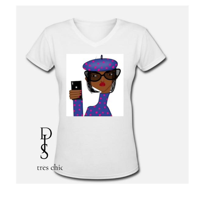 Très Chic Graphictshirt Graphic Africanamerican Fashion T Shirt Image 0