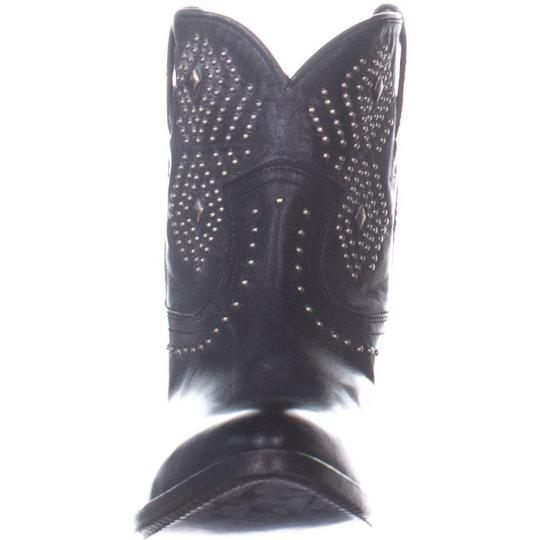 5953d7b7ded Frye Black Billy Stud Short Distressed Western Leather Boots/Booties Size  US 8 Regular (M, B) 41% off retail