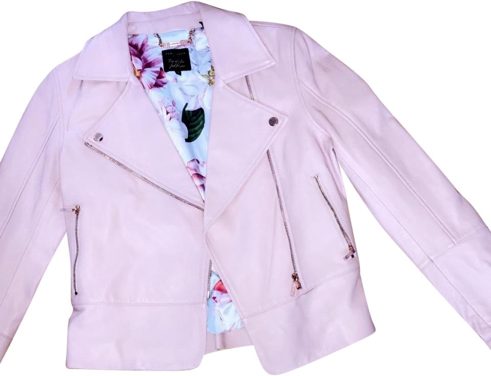 reputable site detailed images world-wide renown Pink Lizia Jacket