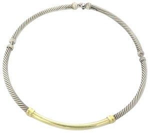 David Yurman This is a designer David Yurman authentic sterling silver and 14k gold