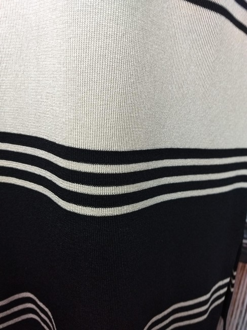 Misook Knit Top BLACK/TAUPE Image 3