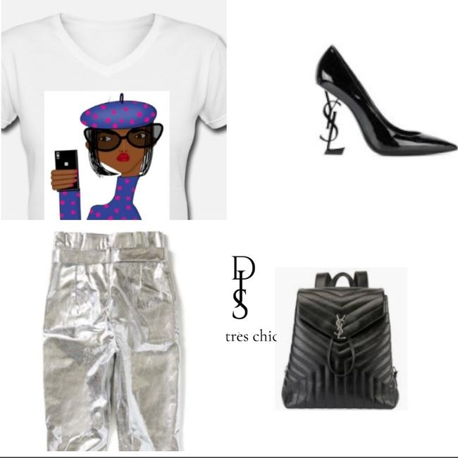 Très Chic Graphictshirt Graphic Africanamerican Fashion T Shirt Image 1