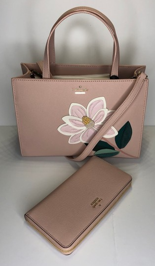 Kate Spade Matching Set Leather Satchel in Warm Vellum Image 1