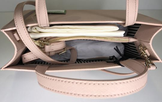 Kate Spade Matching Set Leather Satchel in Warm Vellum Image 11