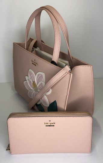 Kate Spade Matching Set Leather Satchel in Warm Vellum Image 2