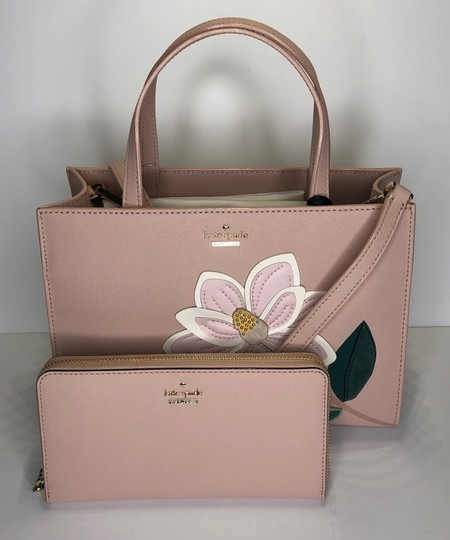 Kate Spade Matching Set Leather Satchel in Warm Vellum Image 3