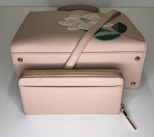Kate Spade Matching Set Leather Satchel in Warm Vellum Image 4