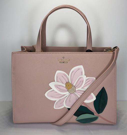 Kate Spade Matching Set Leather Satchel in Warm Vellum Image 5
