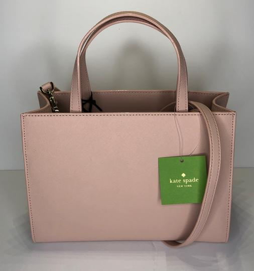 Kate Spade Matching Set Leather Satchel in Warm Vellum Image 7