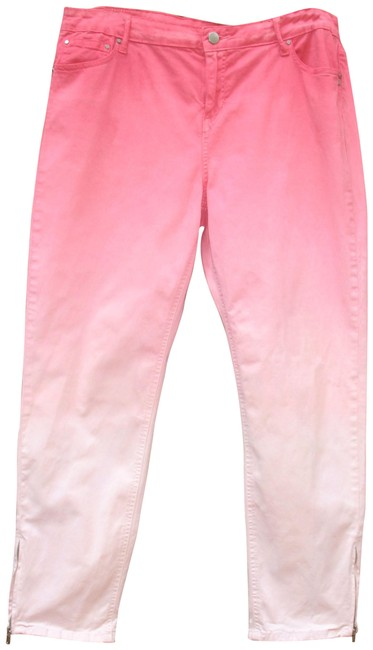 Preload https://img-static.tradesy.com/item/24896979/soft-surroundings-pink-ombre-ankle-tall-skinny-jeans-size-36-14-l-0-1-650-650.jpg