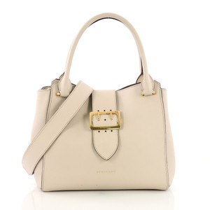Burberry Leather Tote in beige