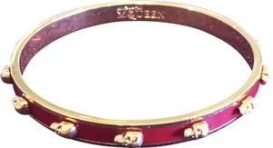 Alexander McQueen Skull Red and Gold