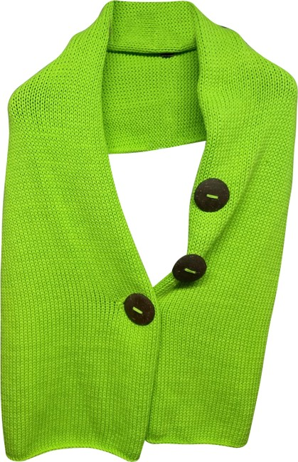 Item - Lime Women's Knitted Female Shawl Scarf/Wrap