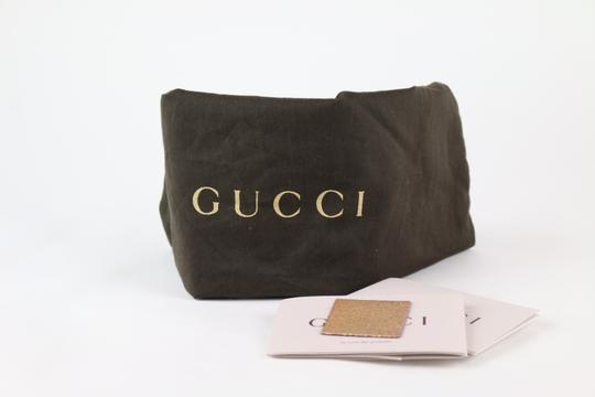 Gucci Gucci Broadway Crackled Metallic Leather Clutch Image 1