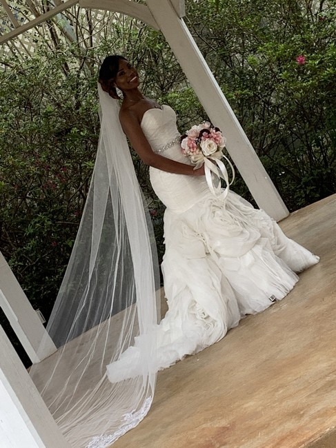 Maggie Sottero Ivory Lace and Silk Primrose Sexy Wedding Dress Size 8 (M) Maggie Sottero Ivory Lace and Silk Primrose Sexy Wedding Dress Size 8 (M) Image 2
