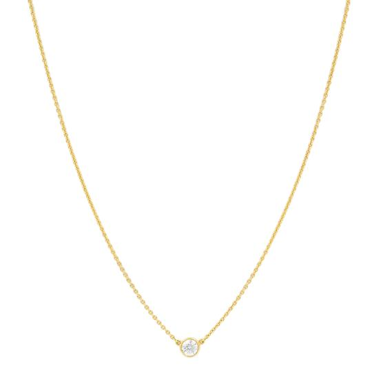 Preload https://img-static.tradesy.com/item/24897139/tiffany-and-co-yellow-023ct-diamond-by-the-yard-18k-gold-necklace-0-3-540-540.jpg