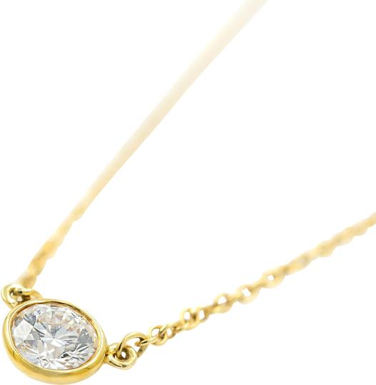 Tiffany & Co. 0.23ct Diamond By The Yard Necklace 18K Gold Image 1