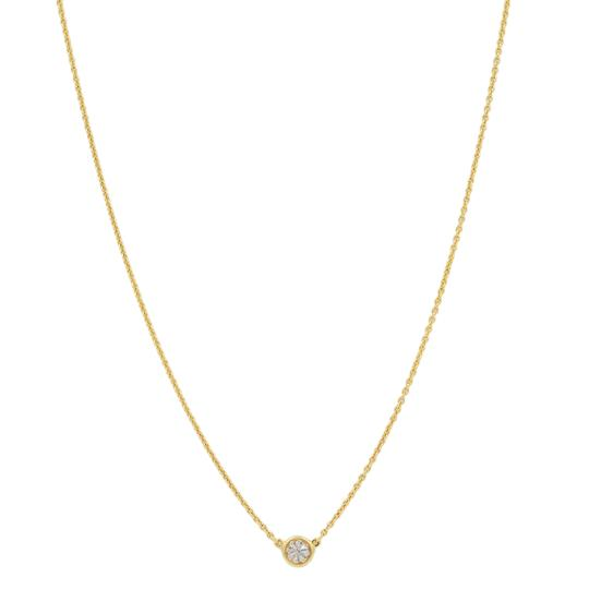 Tiffany & Co. 0.23ct Diamond By The Yard Necklace 18K Gold Image 2