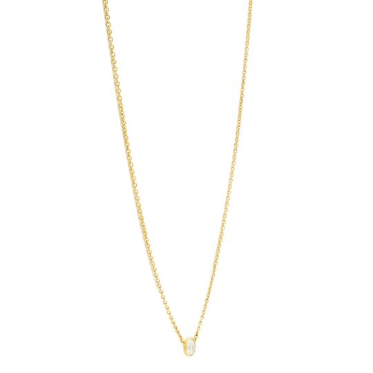 Tiffany & Co. 0.23ct Diamond By The Yard Necklace 18K Gold Image 3