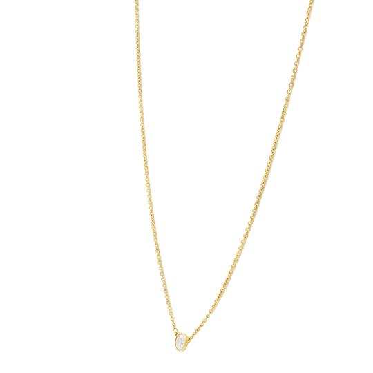 Tiffany & Co. 0.23ct Diamond By The Yard Necklace 18K Gold Image 4