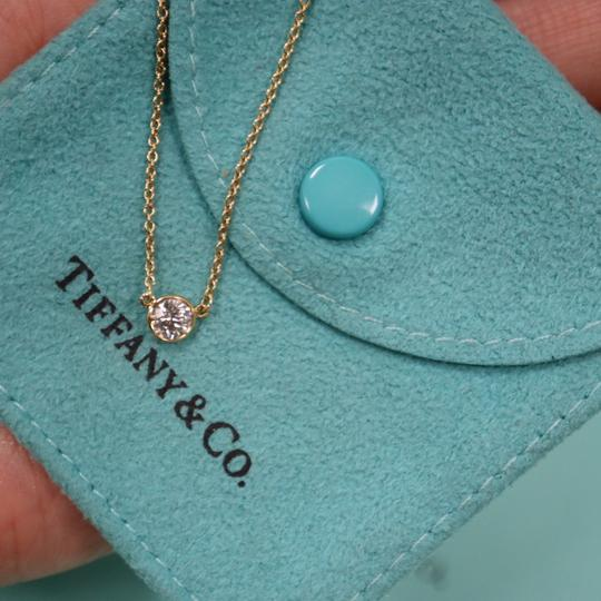 Tiffany & Co. 0.23ct Diamond By The Yard Necklace 18K Gold Image 6