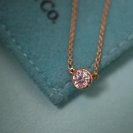 Tiffany & Co. 0.23ct Diamond By The Yard Necklace 18K Gold Image 7