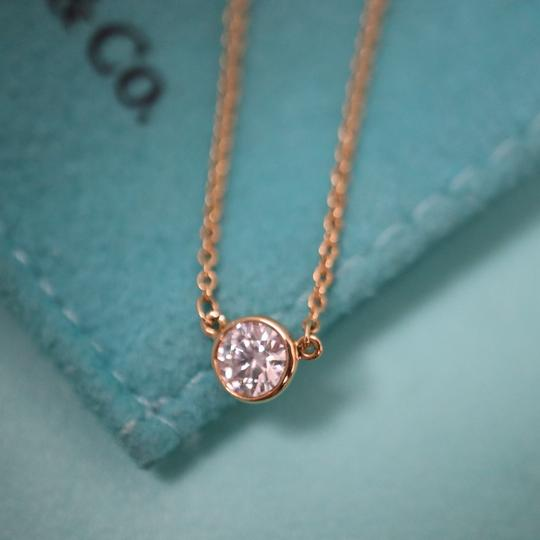 Tiffany & Co. 0.23ct Diamond By The Yard Necklace 18K Gold Image 8