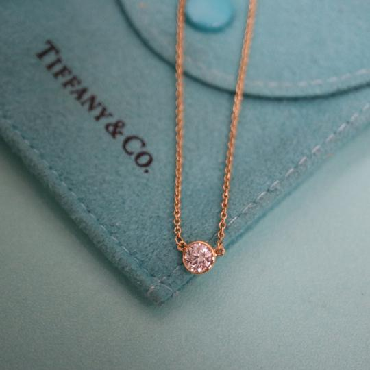 Tiffany & Co. 0.23ct Diamond By The Yard Necklace 18K Gold Image 9