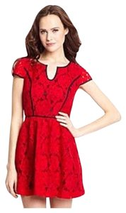 Kensie short dress Red on Tradesy