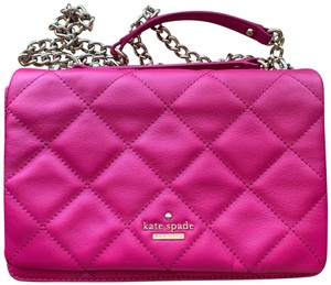 kate spade Over The Shoulder Quilted Leather Cross Body Bag