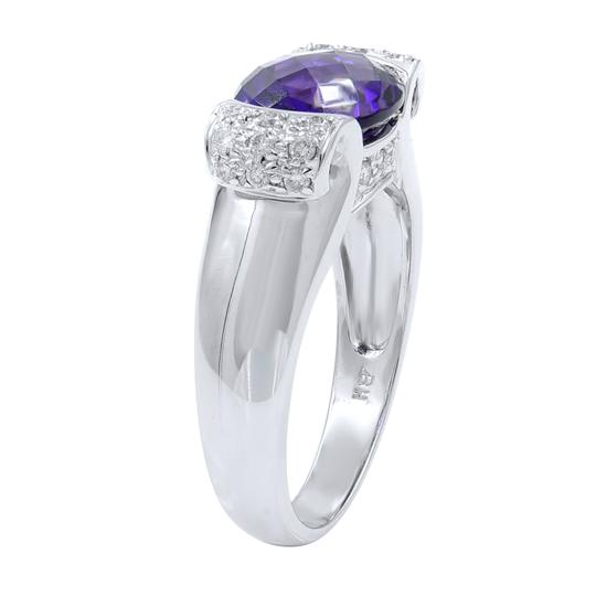 Other Diamond And Amethyst Ring in 14K White Gold Image 1