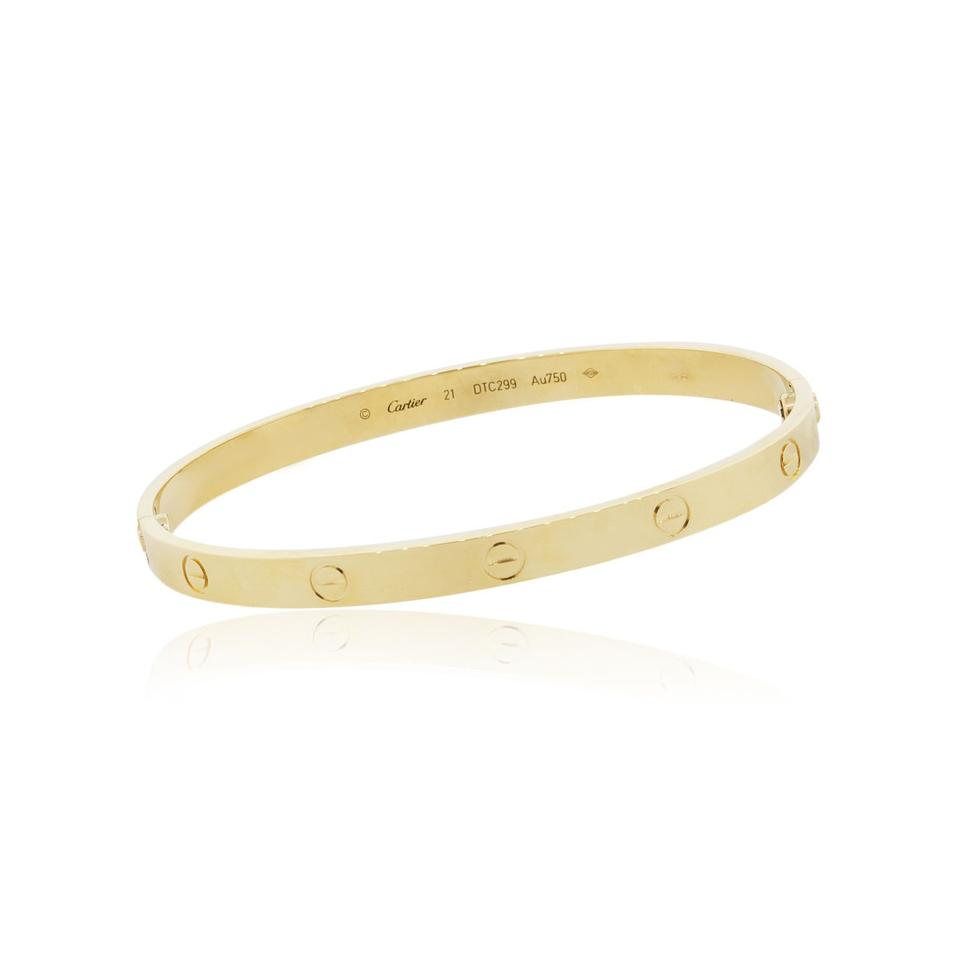 2f56828220a Cartier Cartier 18k Yellow Gold Size 21 Love Bangle Image 0 ...