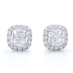 Gavriel's Jewelry Diamond Halo Set Stud Earrings 2.45cttw