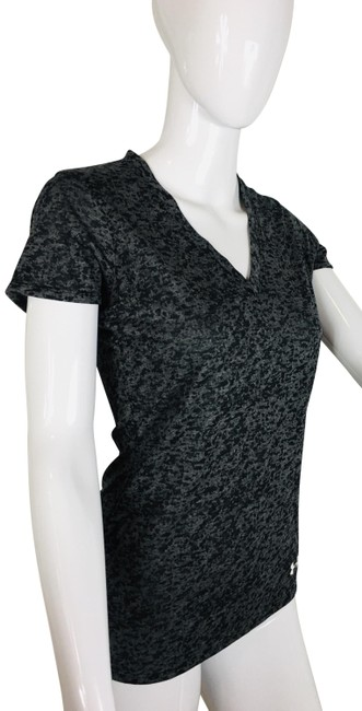 Item - Grey V-neck Athletic Tee Shirt Size 2 (XS)
