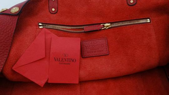 Valentino Tote in Red Image 11