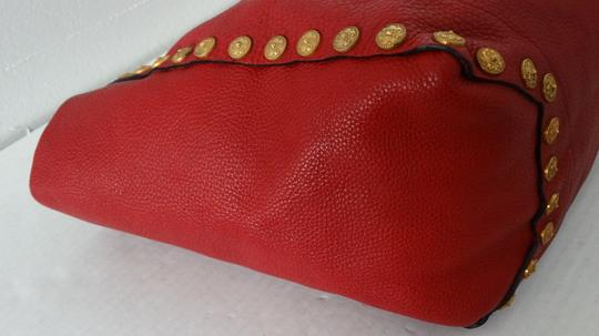 Valentino Tote in Red Image 7
