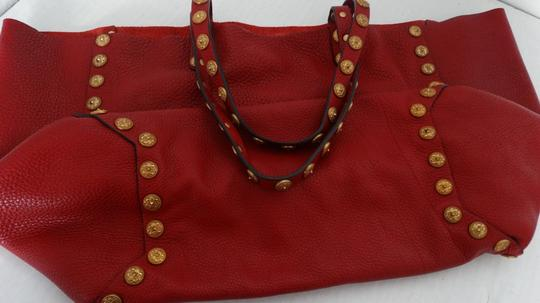 Valentino Tote in Red Image 8