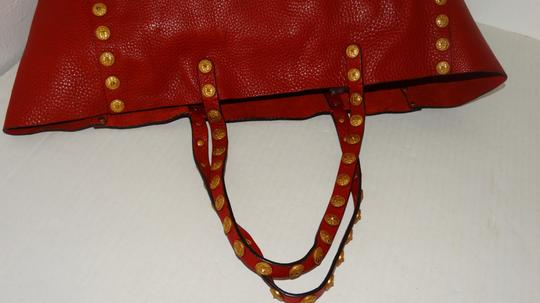Valentino Tote in Red Image 9