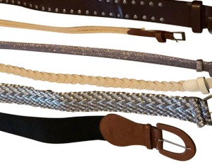 Banana Republic + Others mixed lot of 6 belts including brand name