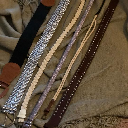Banana Republic + Others mixed lot of 6 belts including brand name Image 1