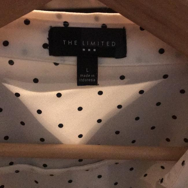 The Limited Button Down Shirt Black and white Image 3