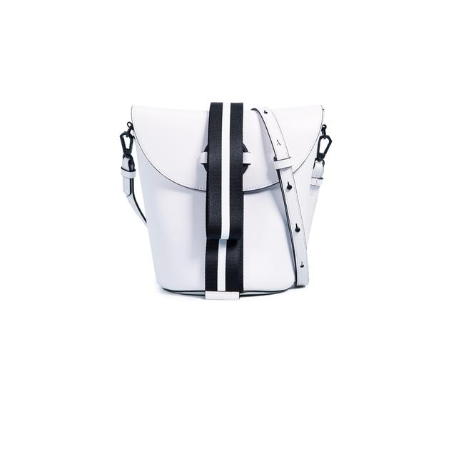 Item - White Faux Leather Cross Body Bag